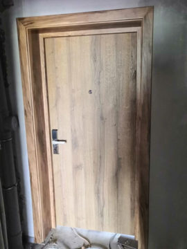 Завершен монтаж дверей в гостинице в ПГТ Шерегеш Кемеровской области